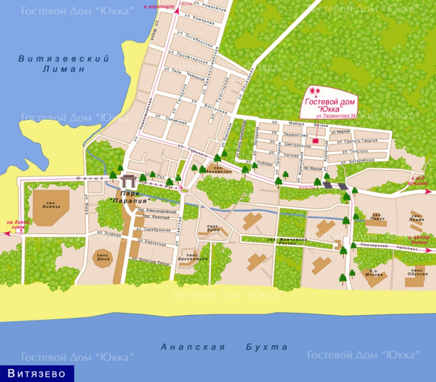 Карта схема сукко